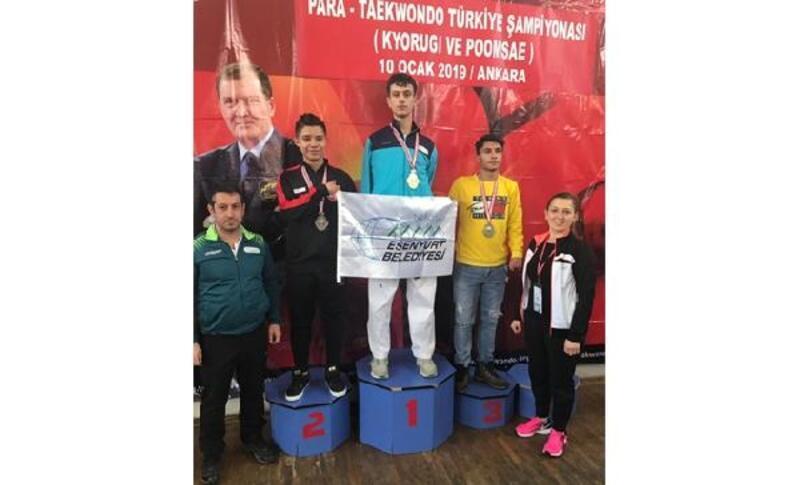 Engelli sporcu Yusuf Yünaçtı dünya şampiyonasına hazırlanıyor