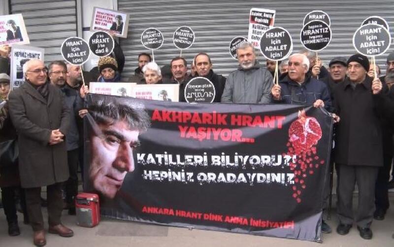 Hrant Dink, ölümünün 12'nci yılında Ankara'da anıldı