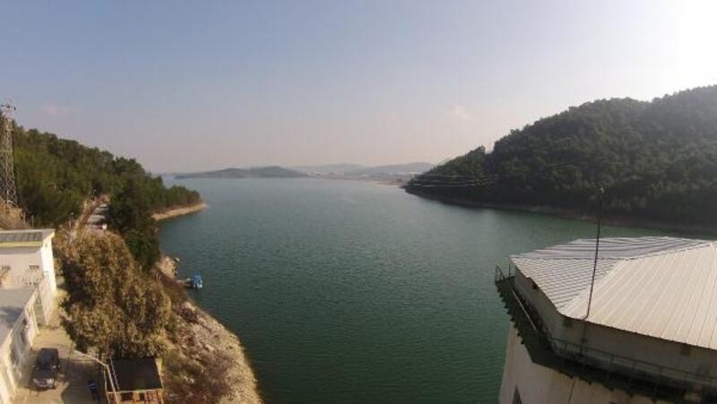 Tahtalı Barajı'nda bir günde 2,5 aylık su birikti