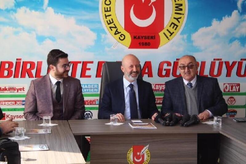 Başkan Çolakbayrakdar'dan Gazeteciler Cemiyetine ziyaret