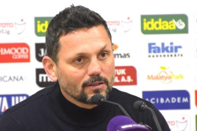 Evkur Yeni Malatyaspor - Göztepe maçının ardından