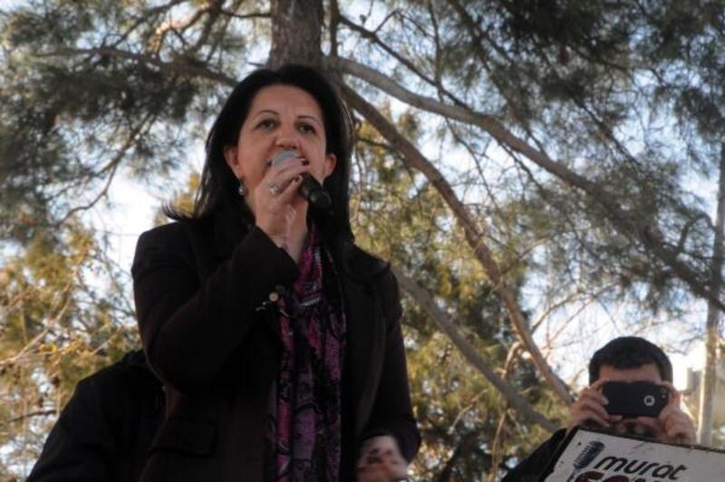 Diyarbakır'da HDP'den 'Demokrasi, Adalet ve Özgürlük' mitingi
