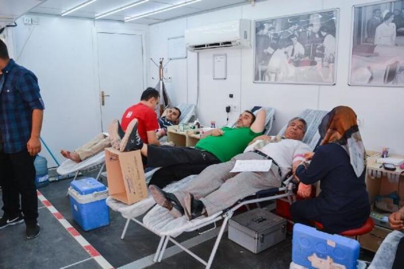 Ceylanpınar'da kan bağışına yoğun ilgi
