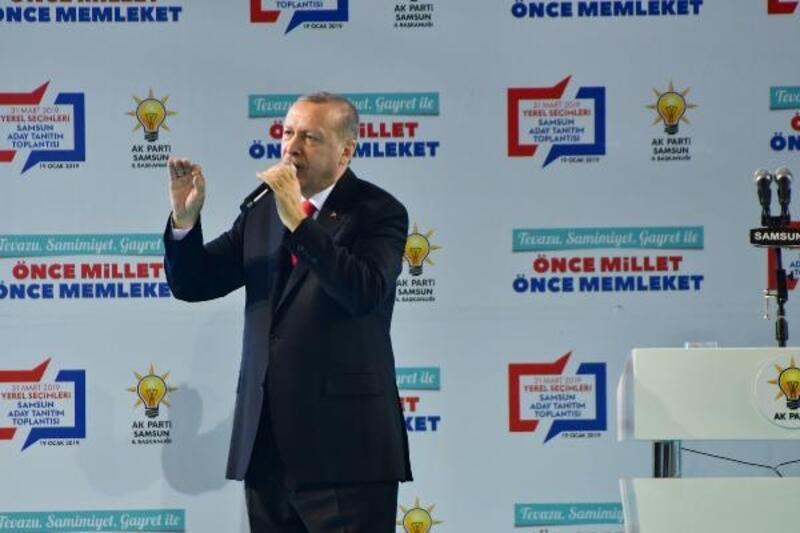 Erdoğan: Türkiye ne zaman yükselişe geçse önüne tuzaklar döşenmiştir