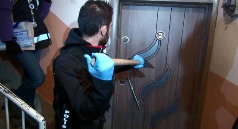 Polis, koçbaşıyla girdiği evlerde uyuşturucu ele geçirdi