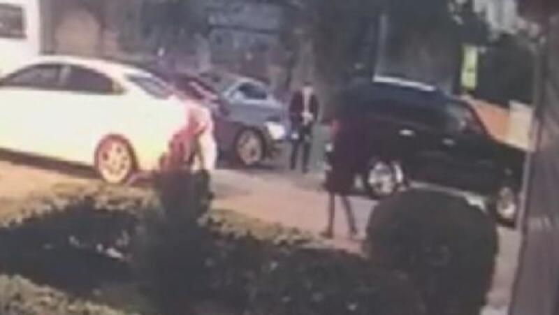 Kartal'da cip çalan kişinin vurulma anı kamerada