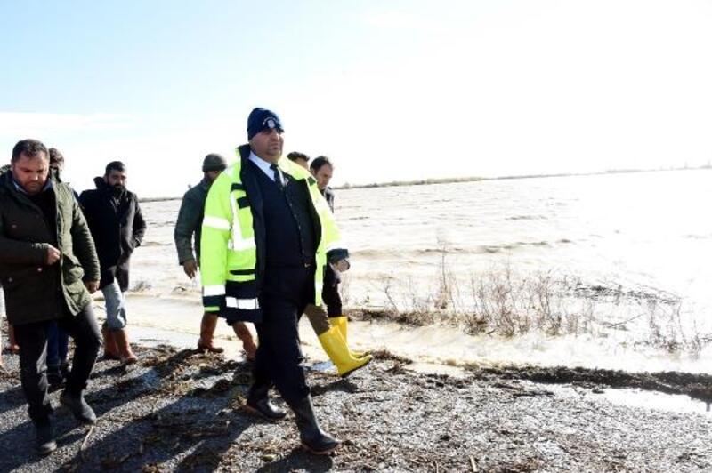 Başkan Can'dan yağış ve fırtınadan etkilenen bölgede inceleme