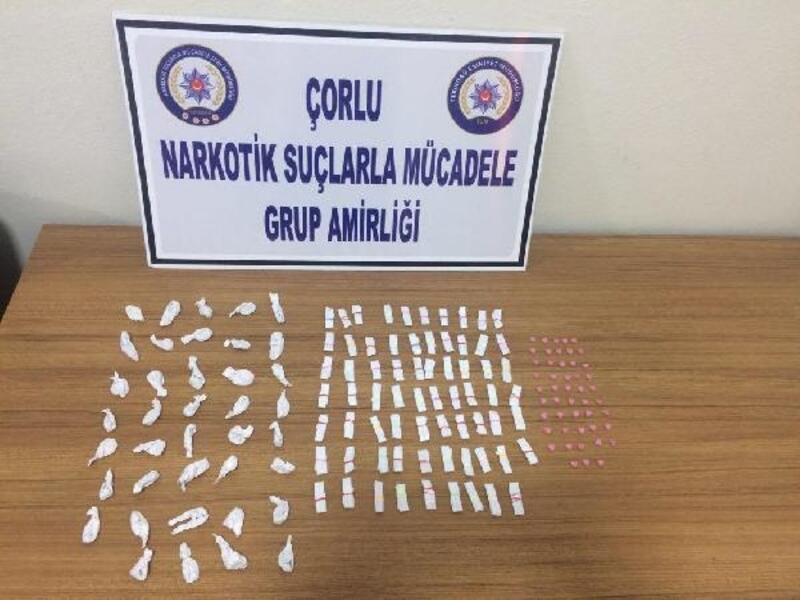 Çorlu'da uyuşturucu operasyonu: 2 gözaltı