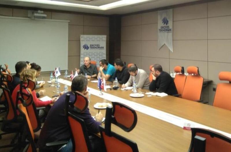 Avrupa İşletmeler Ağı Konsorsiyum toplantısı yapıldı