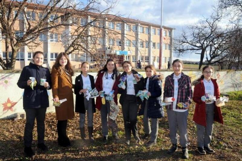 Edirne'de çevreci öğrenciler, 'Eko Tim'i kurdu