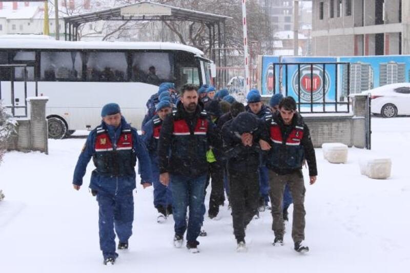 Jandarmanın operasyonunda: 7 tutuklama