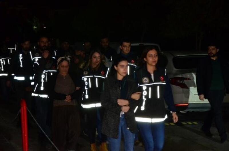 Adana merkezli iki ilde uyuşturucu operasyonu: 18 gözaltı