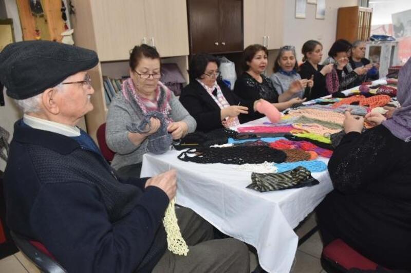 85 yaşındaki Ali Dede, file örmeyi öğrendi