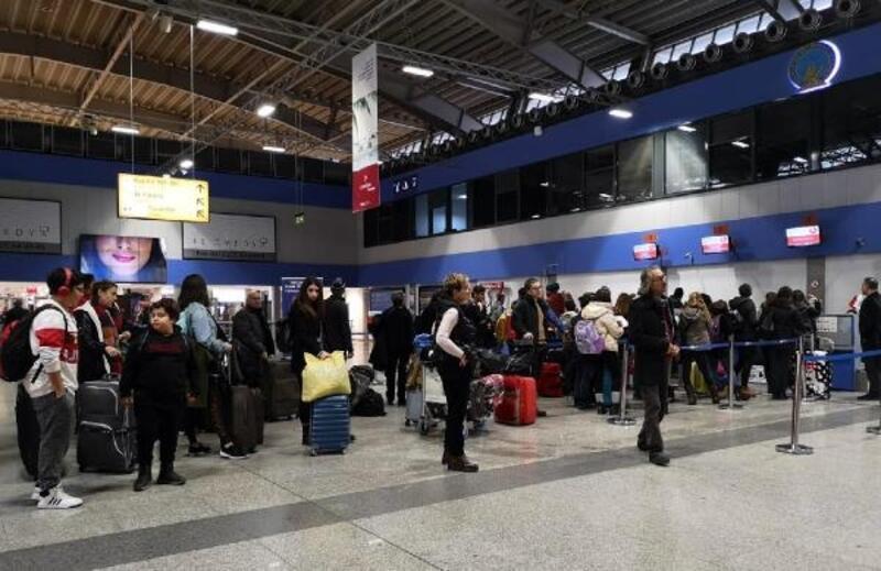 Milas- Bodrum Havalimanı'nda uçuşlara sis engeli