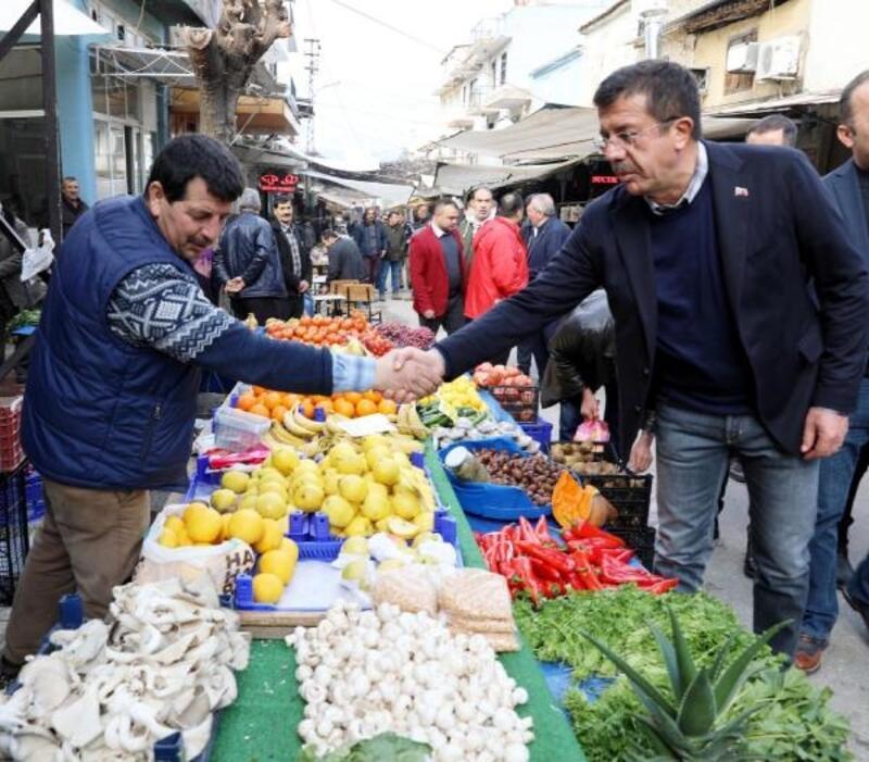 Zeybekci'den ilçe ziyaretleri