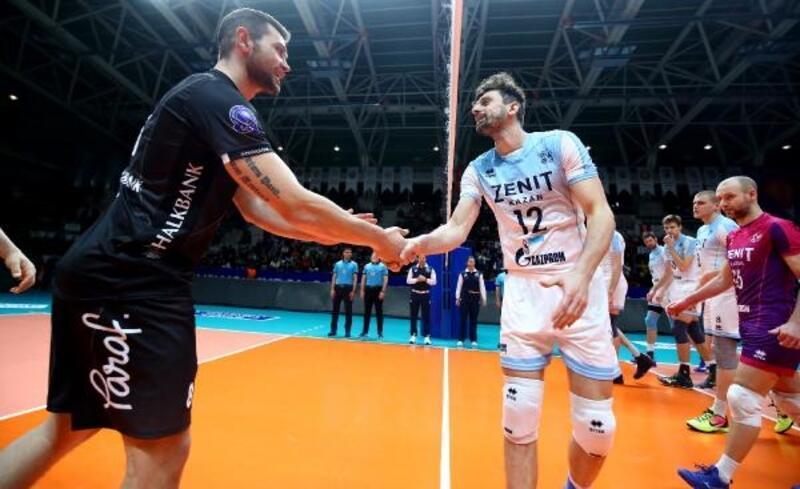 Halkbank- Zenit Kazan: 1 - 3