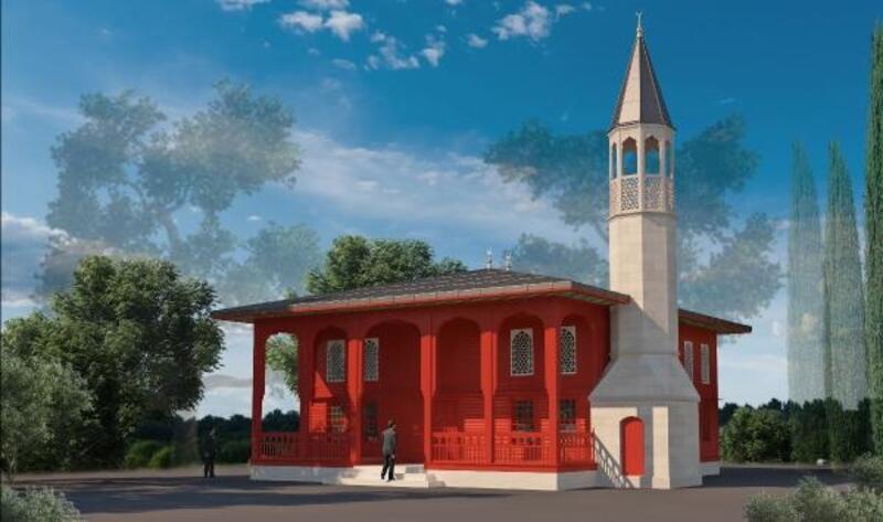 Şehitler Abidesi'ne cami yapılıyor