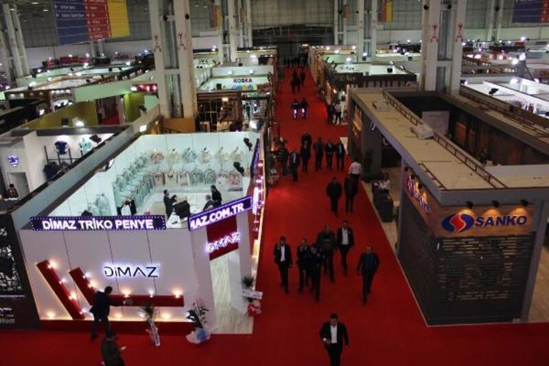 Gaziantep 8'inci Penye, Tekstil ve Teknolojileri Fuarı'na hazırlanıyor