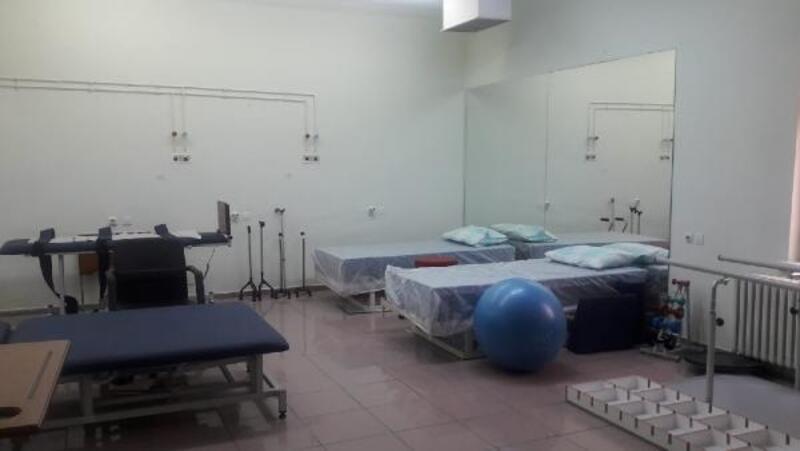 Bağış yoluyla hastaneye fizik tedavi ve rehabilitasyon ünitesi yapıldı