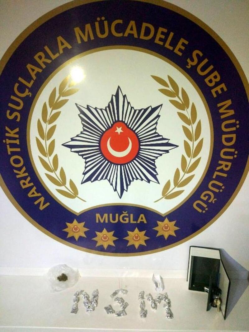 Muğla'da 2 üniversiteliye uyuşturucu gözaltısı