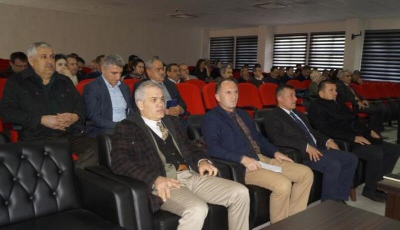 Finike'de Güvenli Okul Projesi toplantısı