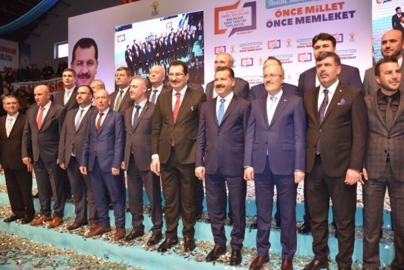 Cumhur İttifakı'nın Balıkesir adayları tanıtıldı