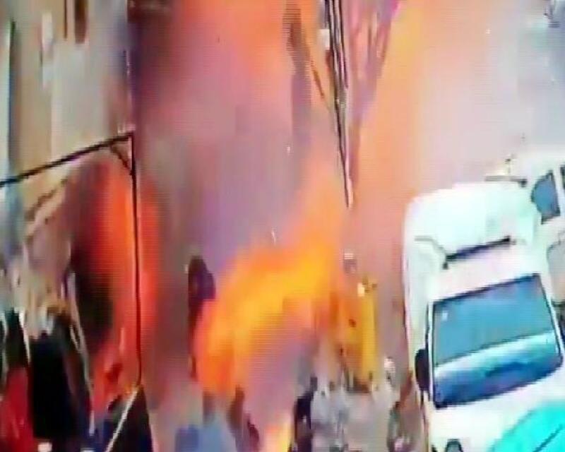 Menbiç'te patlama: 2'si ABD askeri 12 ölü, 20 yaralı
