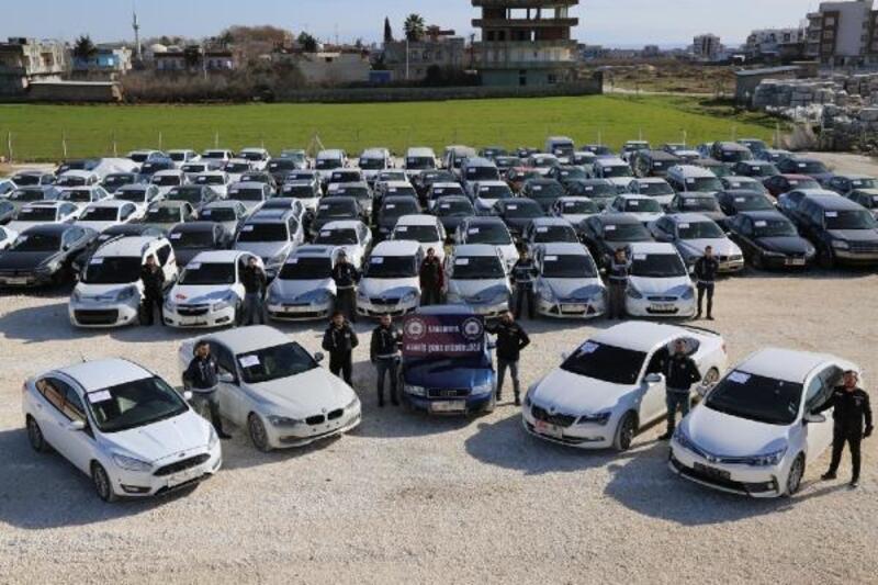 Şanlıurfa merkezli 36 ilde çalıntı araç operasyonu: 15 gözaltı