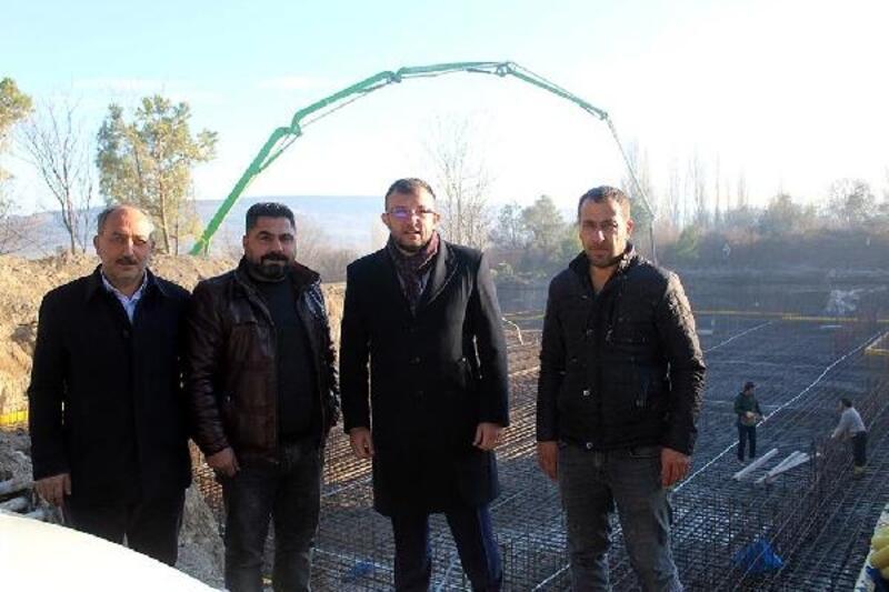Umurbey'de yeni ortaokul binasının temeli atıldı