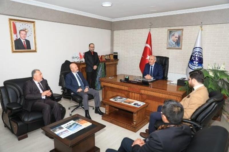 Başkan Çolakbayrakdar'dan sanayi esnafına ziyaret
