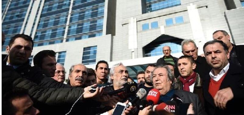 Metin Akpınar ve Müjdat Gezen adli kontrol ile serbest