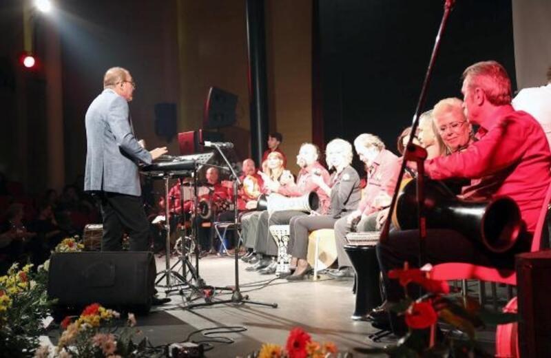 Marmaris'te özel çocuklar konser verdi