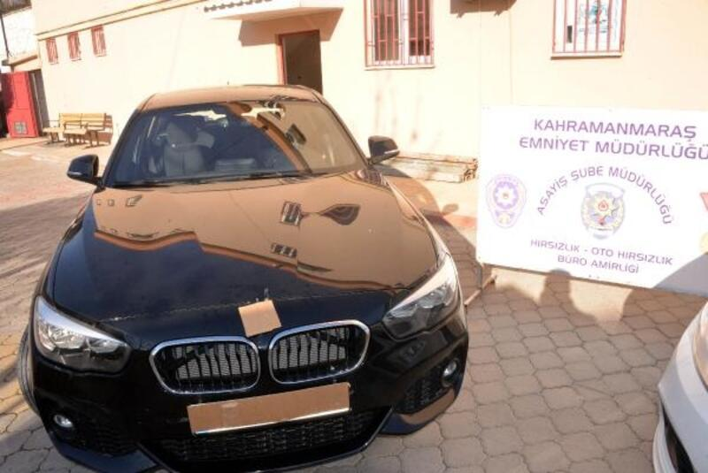 İnterpol'ün takibindeki lüks araç Kahramanmaraş'ta ele geçirildi