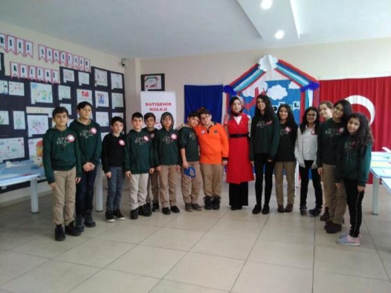 Kahta'da öğrencilerin model uçak merakı