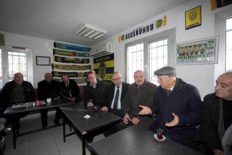 Başkan Yaşar, dolmuş şoförleriyle bir araya geldi
