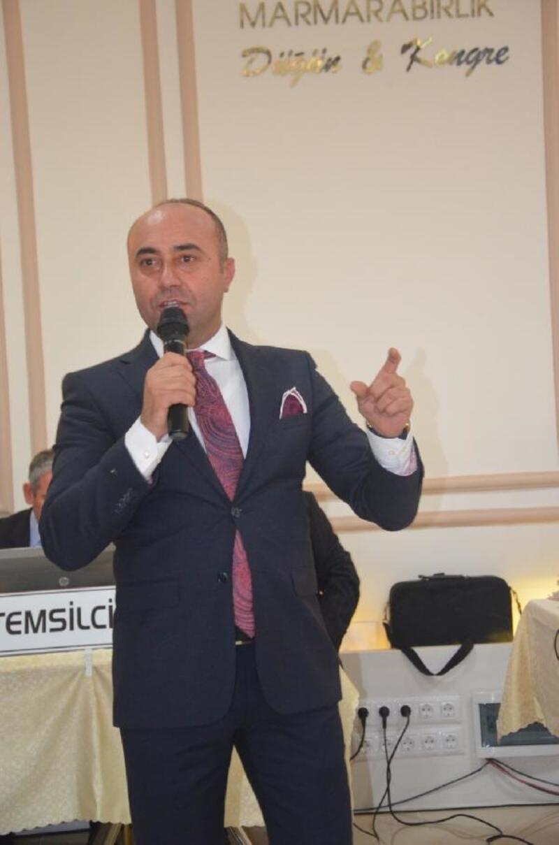 Mudanya Zeytin Tarım Satış Kooperatif Başkanı Ali Yıldız'ın açıklamalarda bulundu