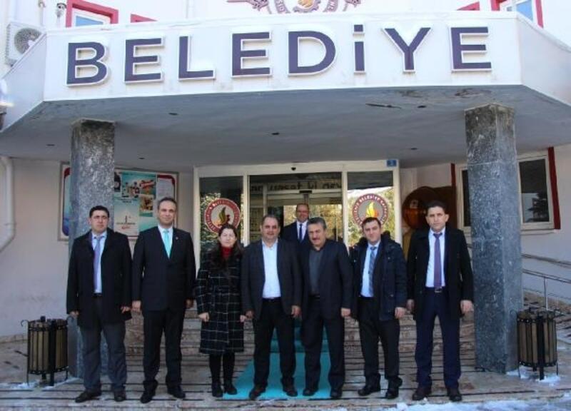 Özçelik İş Sendikası Genel Başkanı, Seydişehir Belediye Başkanını ziyaret etti
