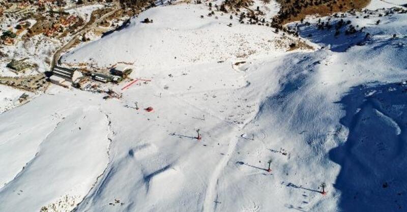 Kayak merkezleri, sömestire hazır