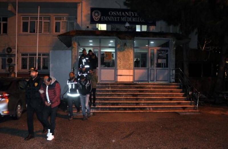 Osmaniye'de uyuşturucu operasyonu: 22 gözaltı