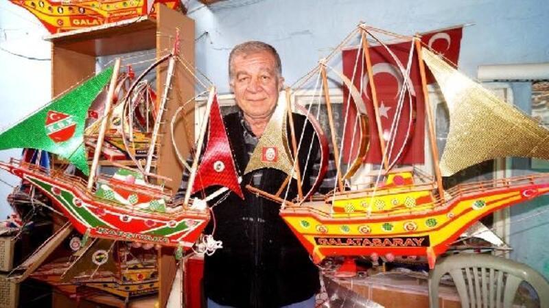 Cezaevinde öğrendiği maket yelkenli yapımı, geçim kaynağı oldu