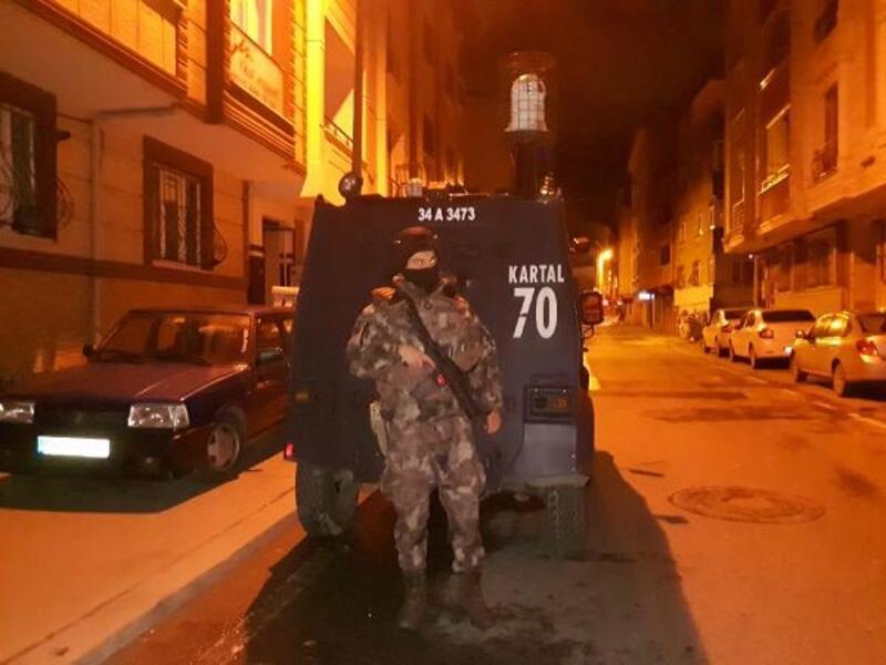 Organize Şubeden İstanbul'da operasyon