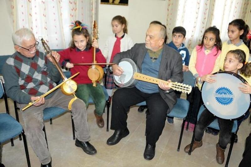 Koçarlı'da eski topraklardan yeni nesle müzik eğitimi