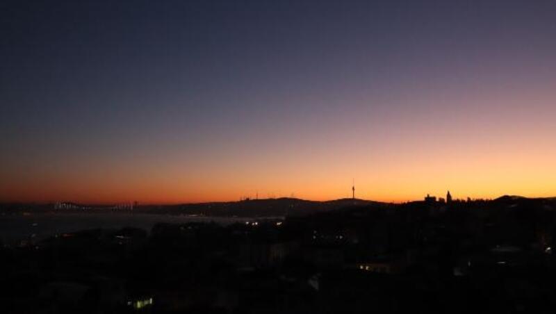 İstanbul'da kış güneşi ile birlikte gelen renk cümbüşü