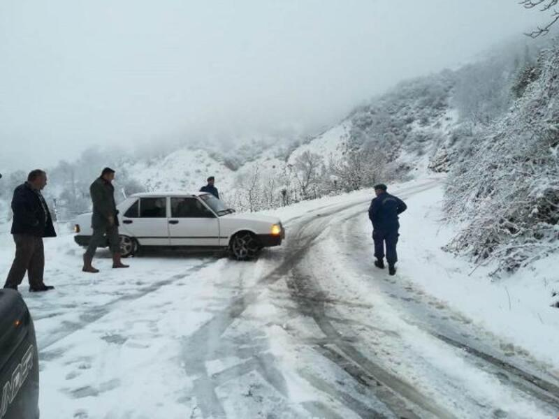 Tire'de eğitime kar tatili