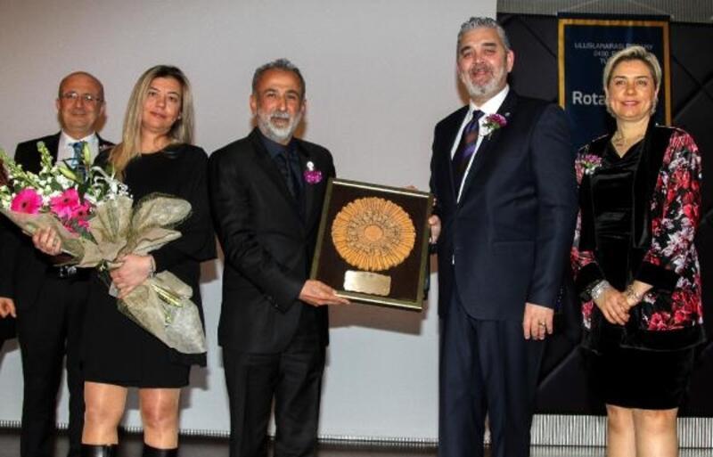Kadir Dursun'a, 'Rotary Ulusal Meslek Hizmet Ödülü'