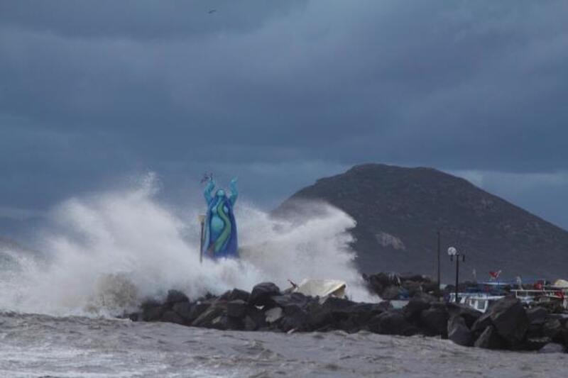Bodrum'daetkili 'fırtına'
