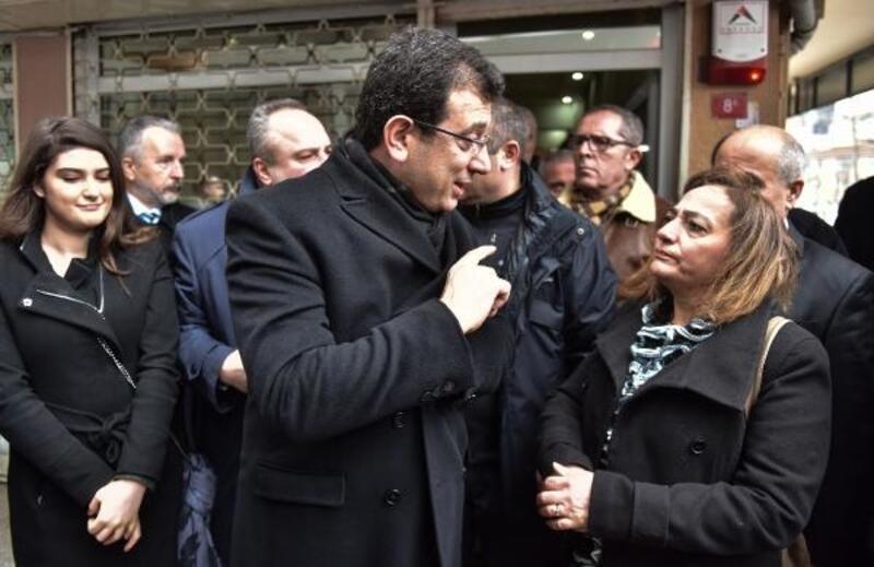 İmamoğlu Güngören'de esnaf ziyaretinde bulundu