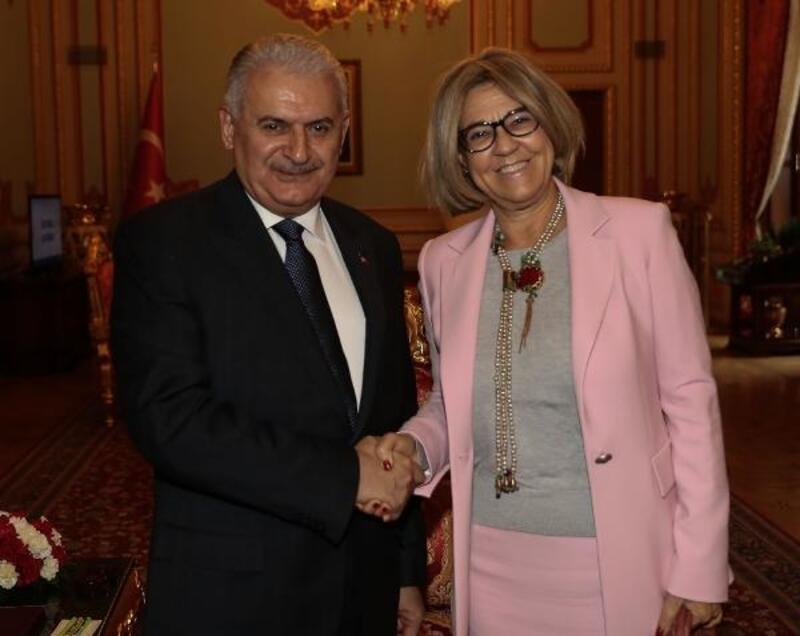 Yıldırım, Portekiz Büyükelçisi Paula Leal Da Silva'yı kabul etti