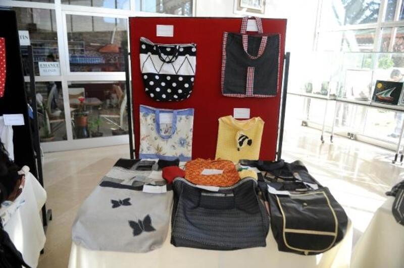 Kahramanmaraş'ta 'Alışveriş çantaları' yarıştı
