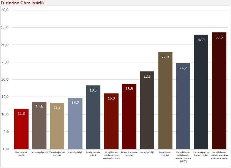 DİSK-AR: Ekim dönemi geniş tanımlı işsiz işsizlik yüzde 18.3
